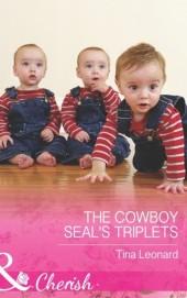 Cowboy SEAL's Triplets (Mills & Boon Cherish) (Bridesmaids Creek, Book 4)