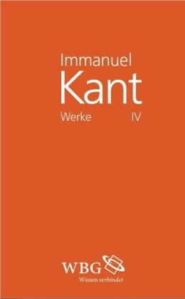 Immanuel Kant Werke IV