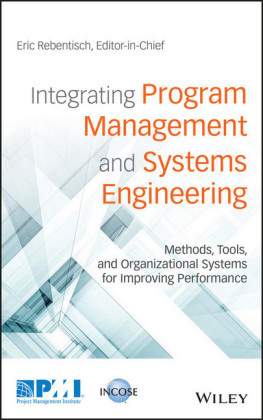 Integrating Program Management and Systems Engineering