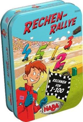 Rechen-Rallye (Kinderspiel)