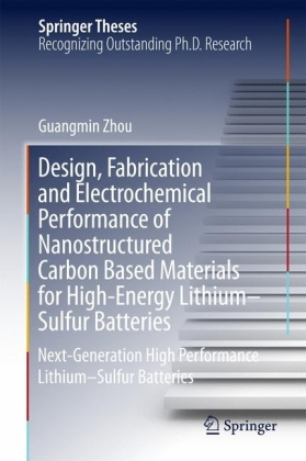Design, Fabrication and Electrochemical Performance of Nanostructured Carbon Based Materials for High-Energy Lithium-Sulfur Batteries