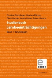 Studienbuch Lernbeeinträchtigungen, Band 1