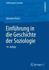 Einführung in die Geschichte der Soziologie Cover