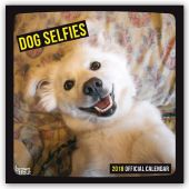 Dog Selfies 2018 Cover