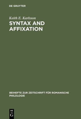 Syntax and affixation