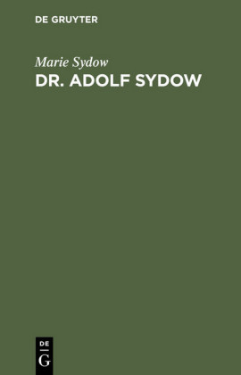 Dr. Adolf Sydow