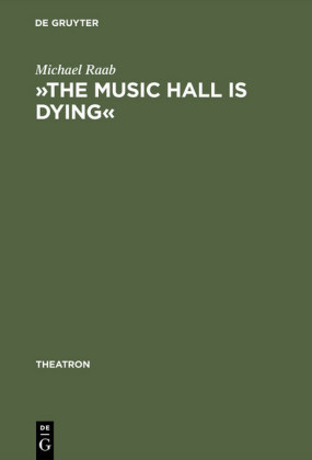 """The music hall is dying"""