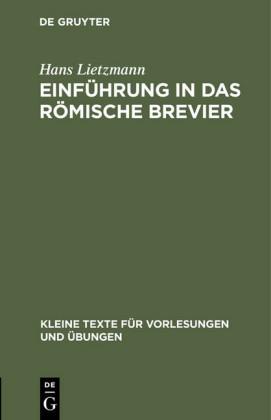 Einführung in das römische Brevier