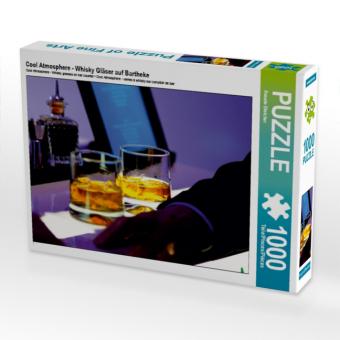 Cool Atmosphere - Whisky Gläser auf Bartheke (Puzzle)