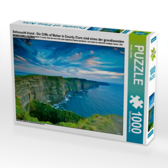 Sehnsucht Irland - Die Cliffs of Moher in County Clare sind eines der grandiosesten Naturschauspiele (Puzzle)