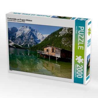 Fischerhütte am Pragser Wildsee (Puzzle)