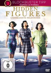Hidden Figures, 1 DVD Cover