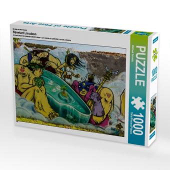 Ein Motiv aus dem Kalender Streetart Lissabon (Puzzle)
