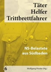 NS-Belastete aus Südbaden Cover