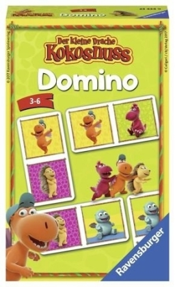 Der kleine Drache Kokosnuss Domino (Kinderspiel)