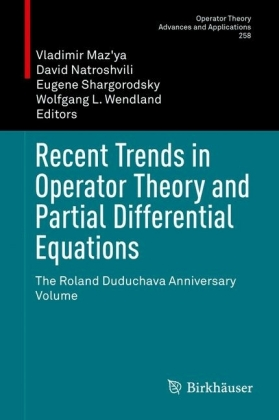 Recent Trends in Operator Theory and Partial Differential Equations