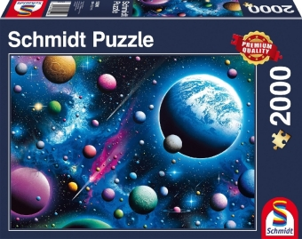 Traumhaftes Weltall (Puzzle)