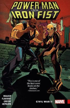Power Man and Iron Fist - Civil War