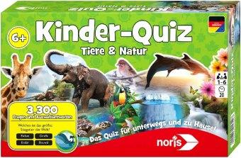 Kinder-Quiz Tiere & Natur (Kinderspiel)
