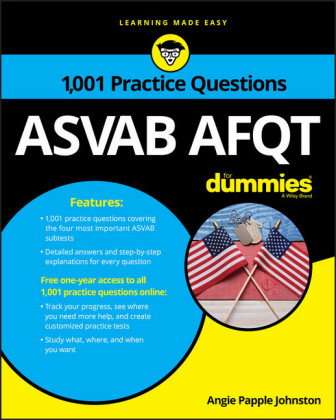 1,001 ASVAB AFQT Practice Questions For Dummies