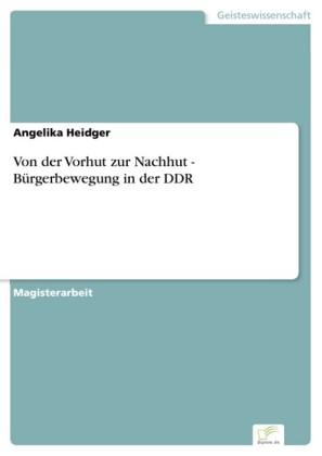 Von der Vorhut zur Nachhut - Bürgerbewegung in der DDR