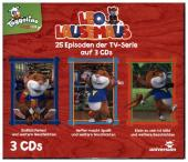 Leo Lausemaus Hörspielbox, 3 Audio-CD Cover