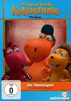 Der kleine Drache Kokosnuss - Der Flaschengeist, 1 DVD