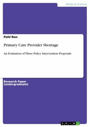 Primary Care Provider Shortage