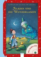 Aladin und die Wunderlampe, m. Audio-CD Cover