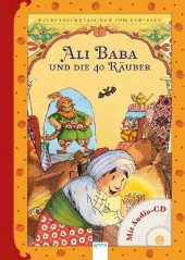 Ali Baba und die 40 Räuber, m. Audio-CD Cover