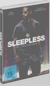 Sleepless, 1 DVD Cover