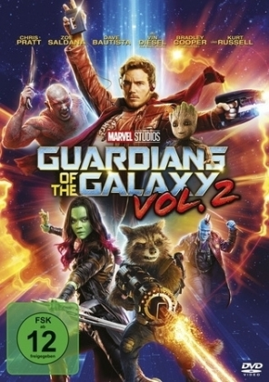 Guardians of the Galaxy, 1 DVD