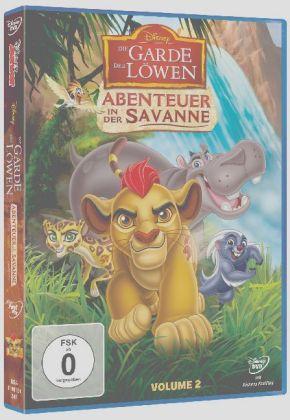 Die Garde der Löwen - Abenteuer in der Savanne, 1 DVD