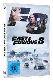 Fast & Furious 8, DVD Cover