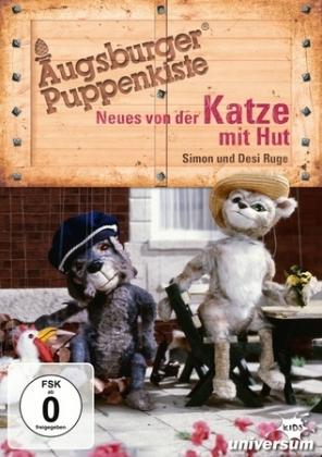 Augsburger Puppenkiste - Neues von der Katze mit Hut, 1 DVD