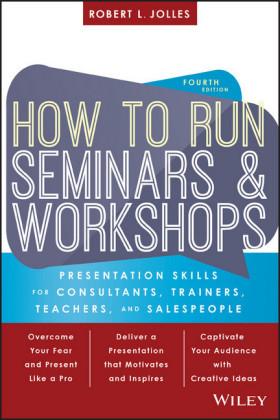 How to Run Seminars and Workshops,