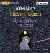 Prinzessin Insomnia & der alptraumfarbene Nachtmahr, 1 MP3-CD Cover
