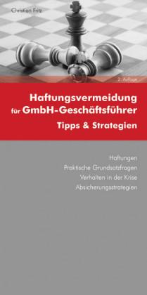 Haftungsvermeidung für GmbH-Geschäftsführer (Ausgabe Österreich)