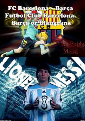 FC Barcelona - Barça Futbol Club Barcelona. Barça or Blaugrana