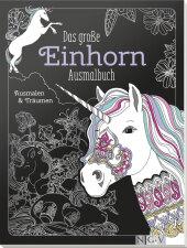 Das große Einhorn-Ausmalbuch Cover