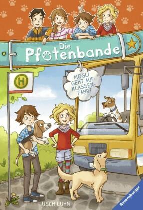 Die Pfotenbande, Band 4: Mogli geht auf Klassenfahrt