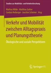 Verkehr und Mobilität zwischen Alltagspraxis und Planungstheorie