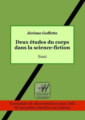 Deux études du corps dans la science-fiction