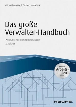 Das große Verwalterhandbuch - inkl. Arbeitshilfen online