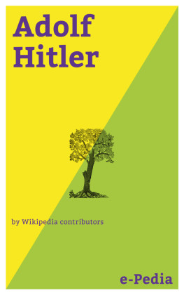 e-Pedia: Adolf Hitler