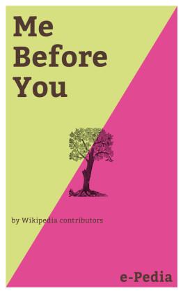 e-Pedia: Me Before You