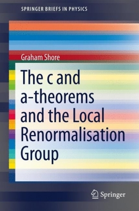 The c and a-Theorems and the Local Renormalisation Group