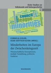 Minderheiten im Europa der Zwischenkriegszeit