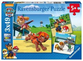 Paw Patrol, Team auf 4 Pfoten (Kinderpuzzle)