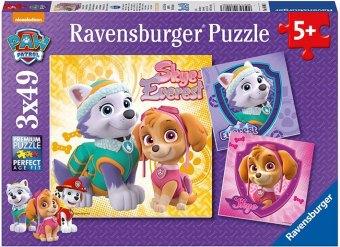 Paw Patrol, Bezaubernde Hundemädchen (Kinderpuzzle)